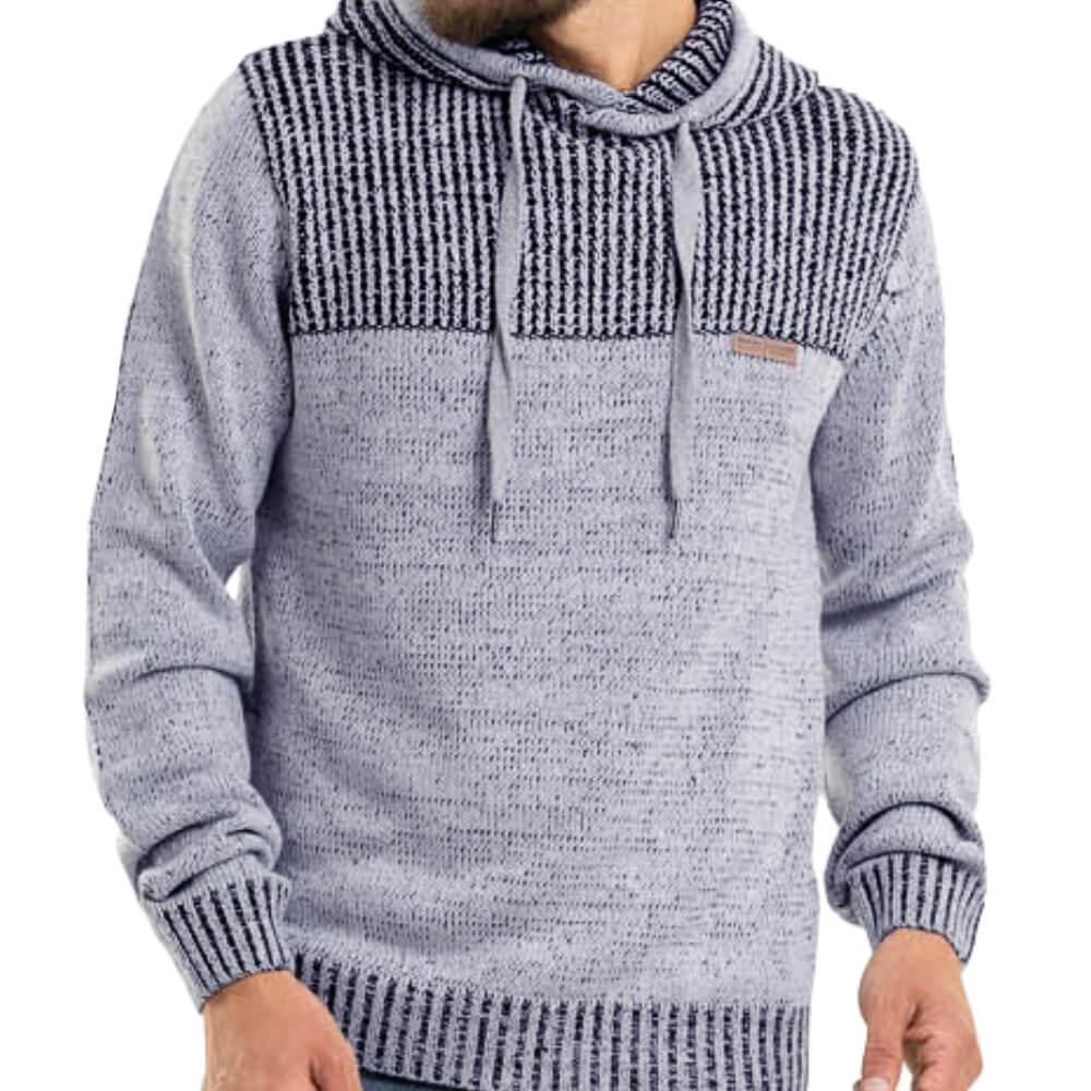 Blusa Masculina Tricot Marinho