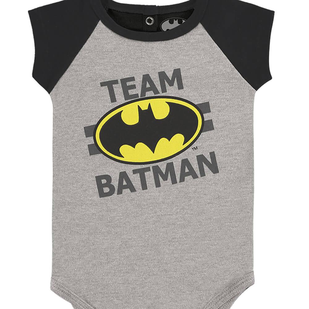 Body Bebê Menino Batman