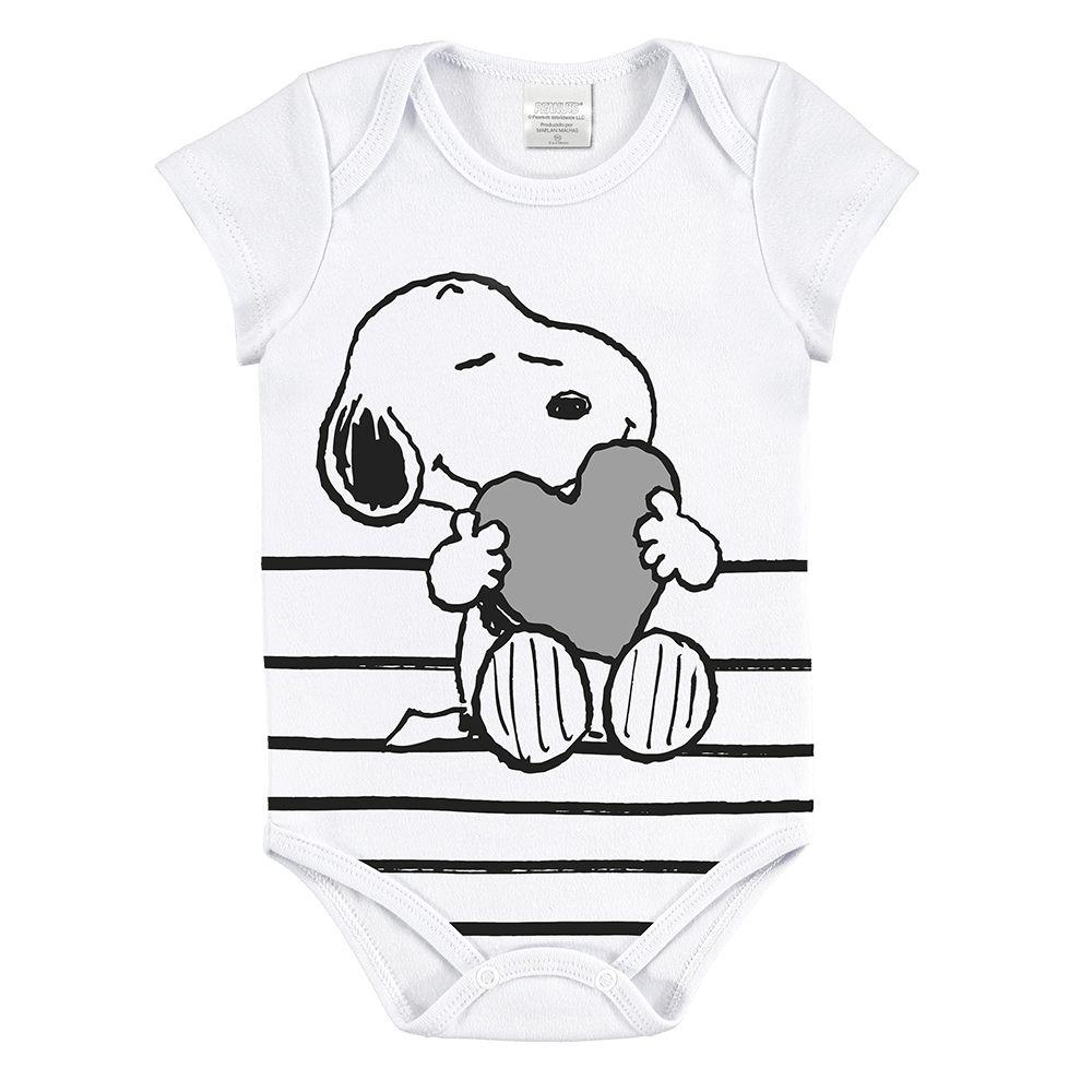 Body Bebê Curta Snoop