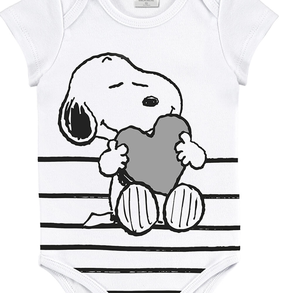 Body Bebê Menino Snoop