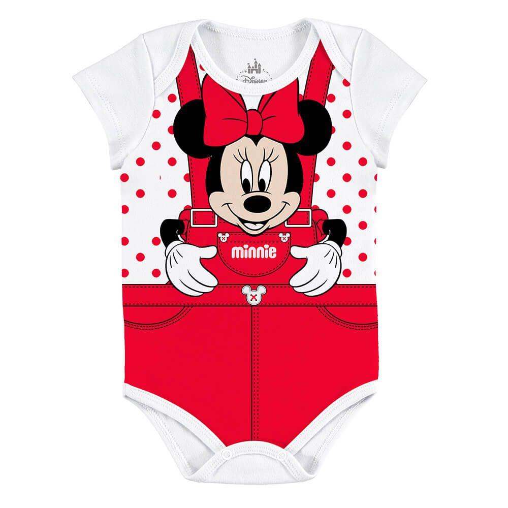 Body Bebê Minnie