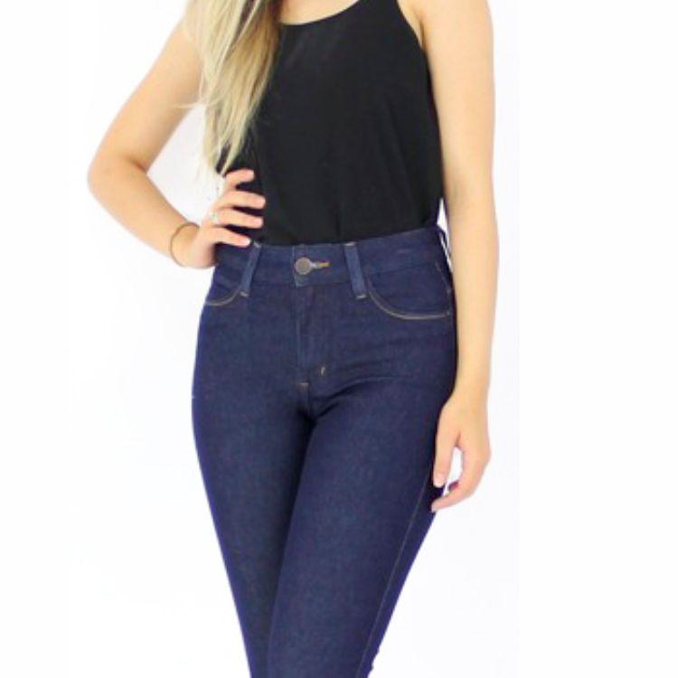 Calça Jeans Feminina Básica Hot Skinny