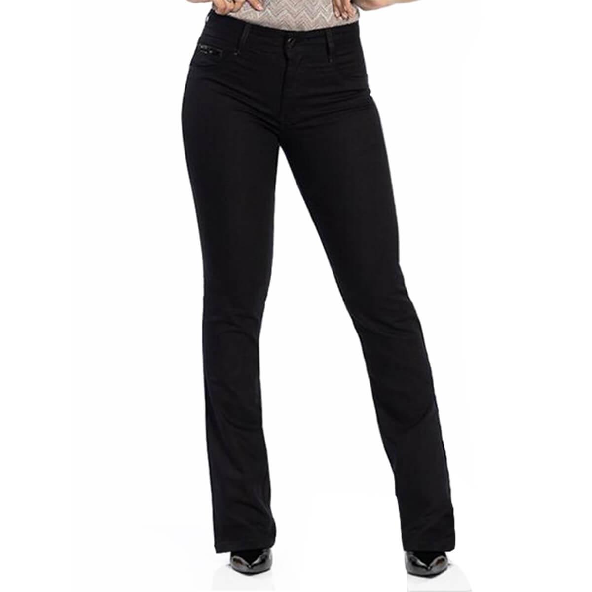 Calça Jeans Feminina Cal Fit Black
