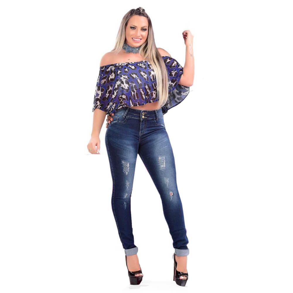 Calça Jeans Feminina Skinny