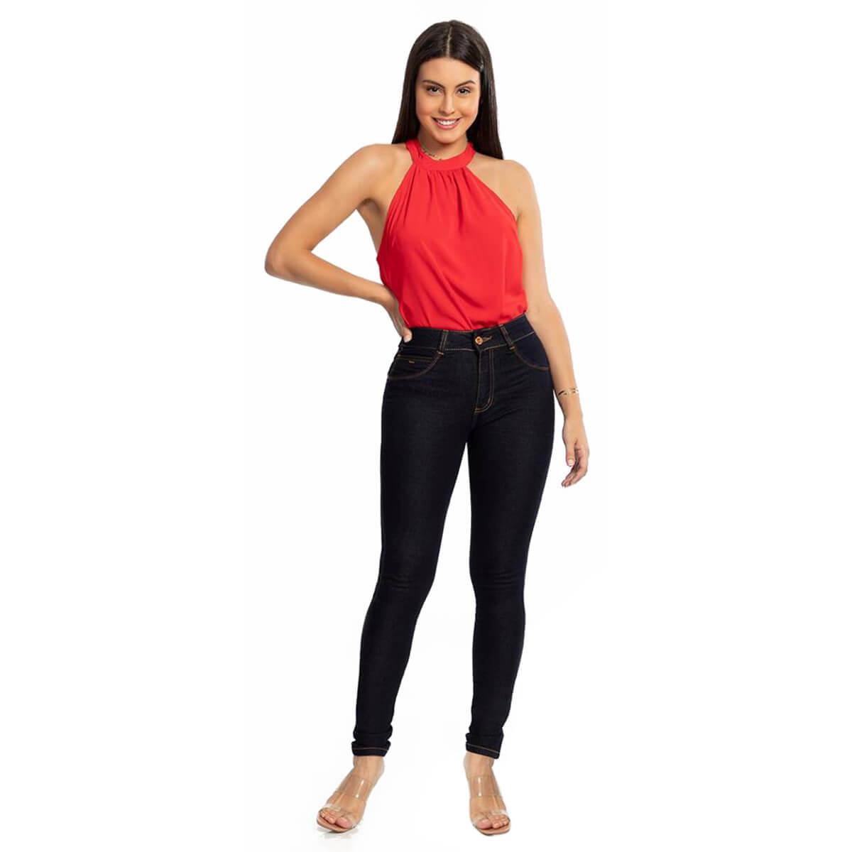 Calça Jeans Feminina Skinny Melissa