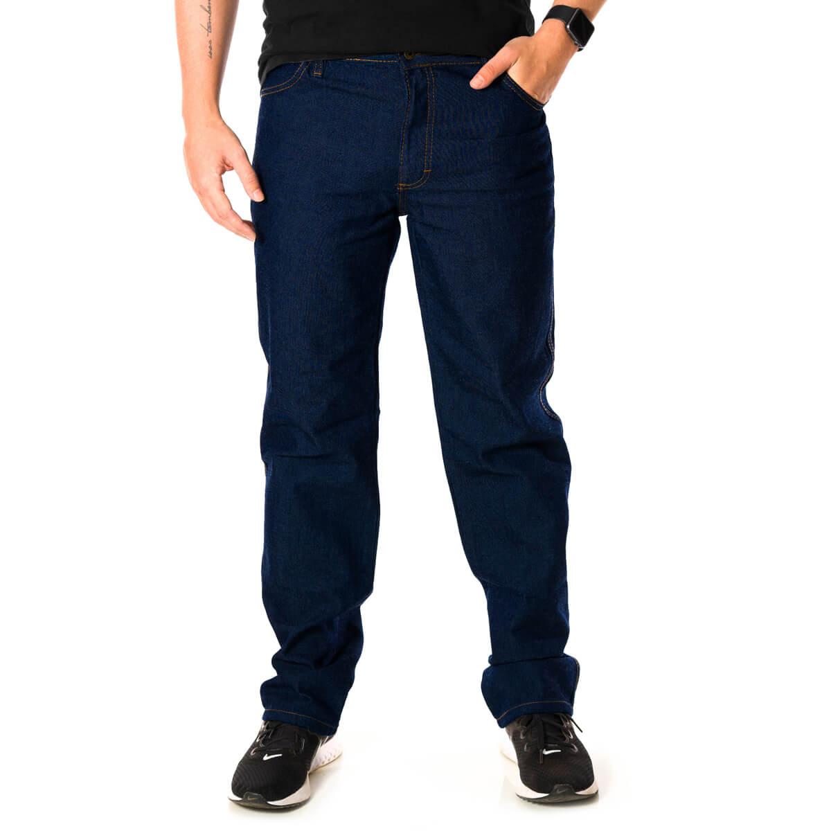 Calça Jeans Masculina Básica Tradicional