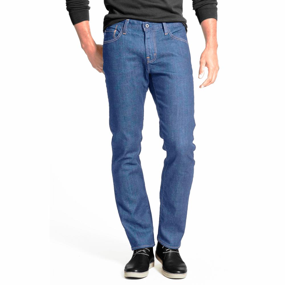 Calça Jeans Masculina com Elastano Delavê