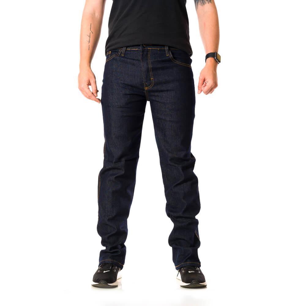 Calça Jeans Masculina Premium Elastano Petrol