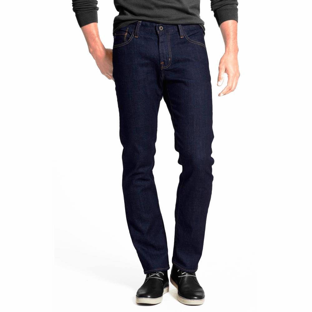 Calça Jeans Masculina com Elastano Marinho