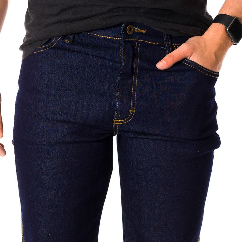 Calça Jeans Masculina Premium Elastano Dark Blue