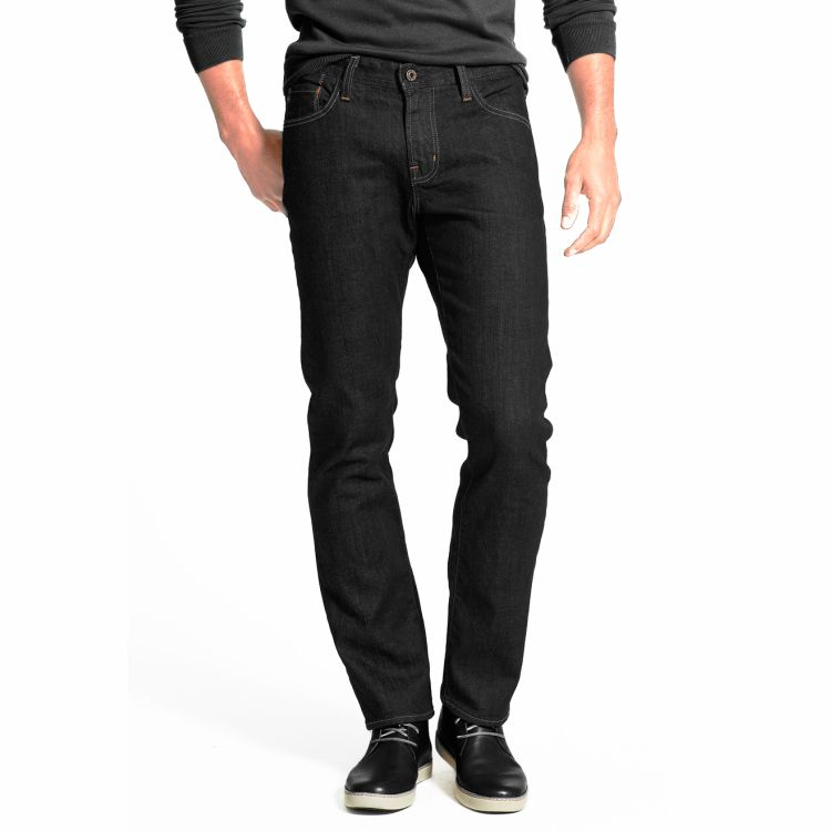 Calça Jeans Masculina Preta com Elastano