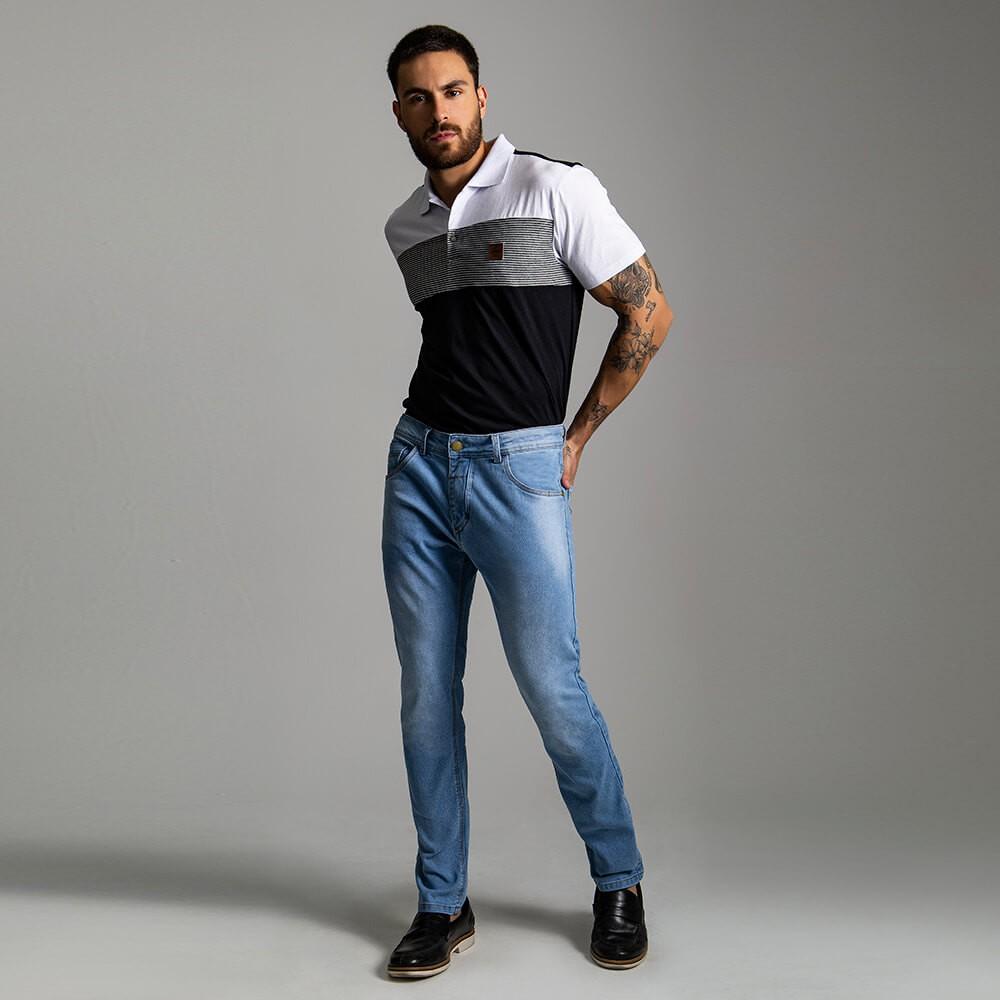 Calça Masculina Jeans Troy