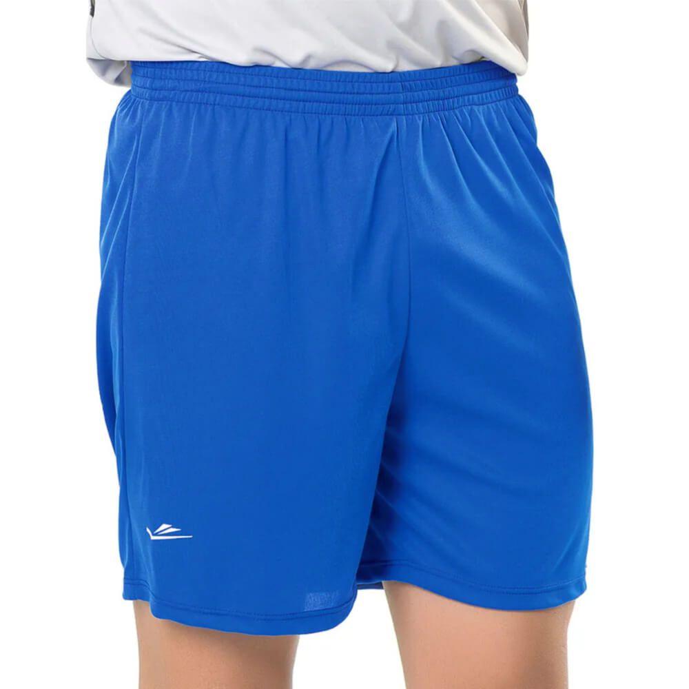 Calção de Futebol Liso Azul