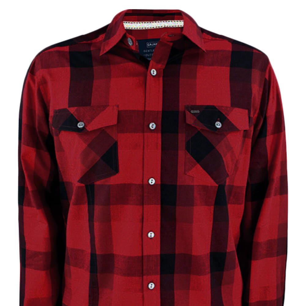 Camisa Masculina Xadrez Baker