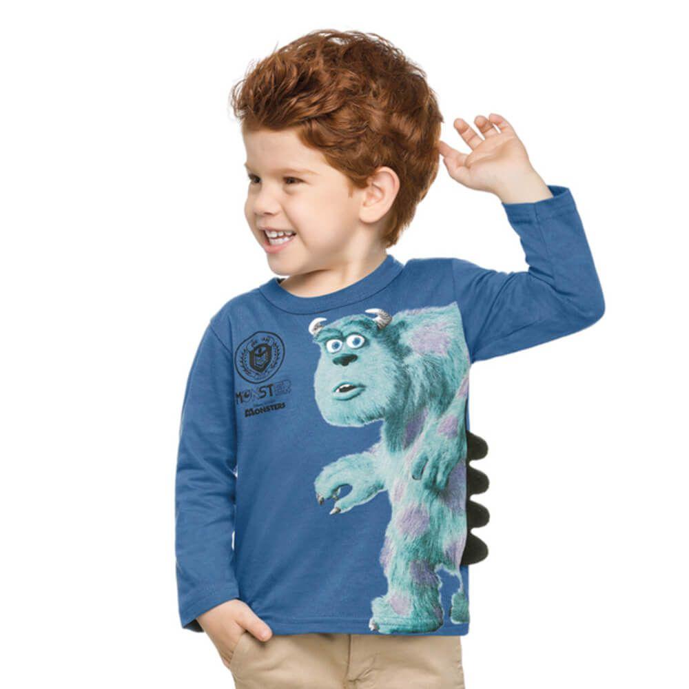 Camiseta Bebê Monstros SA