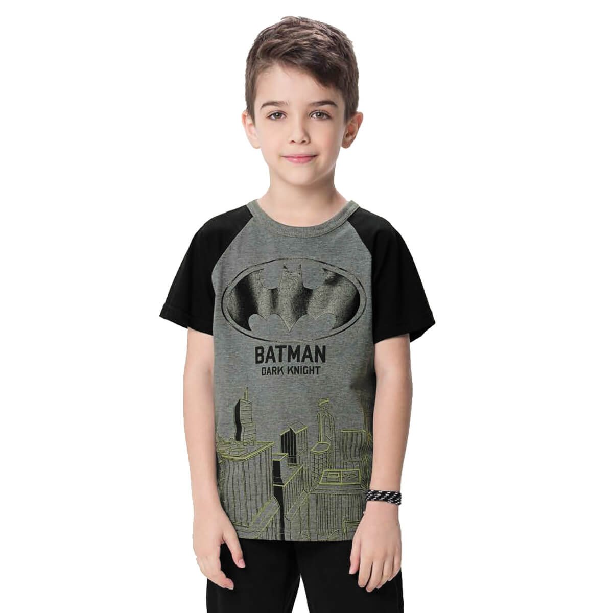 Camiseta Infantil Menino Batman