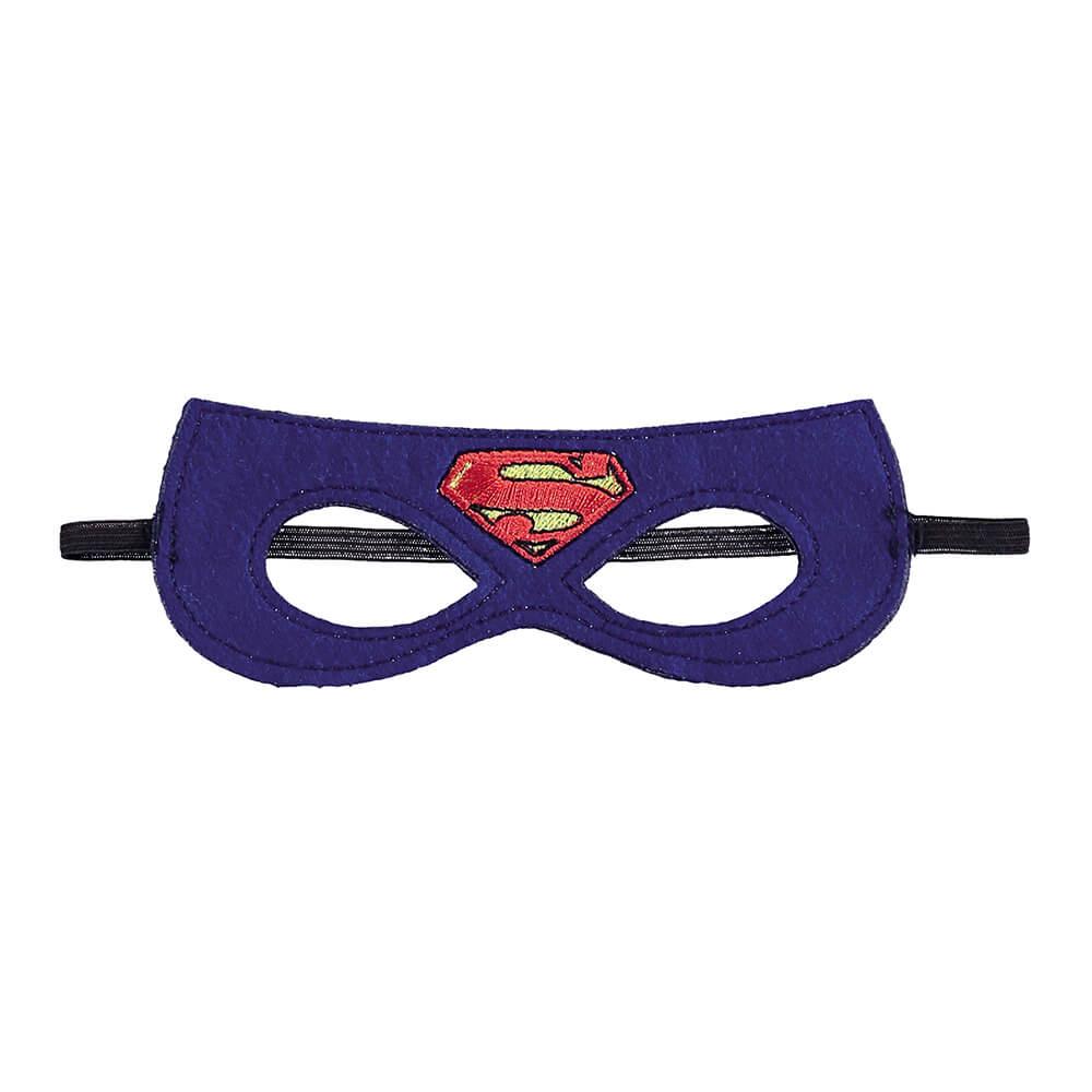Camiseta Infantil Menino Regata Super Homem com Máscara