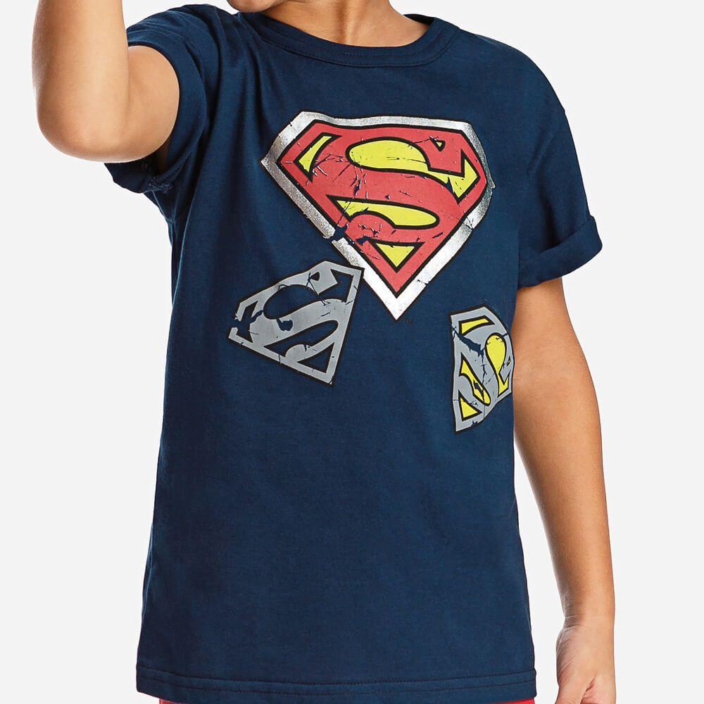Camiseta Infantil Super Homem