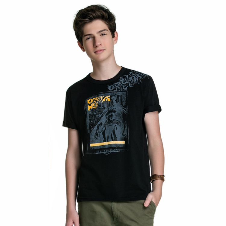 Camiseta Juvenil Batman