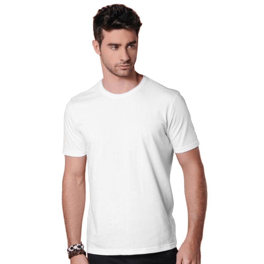 Camiseta Masculina Básica Gola Redonda