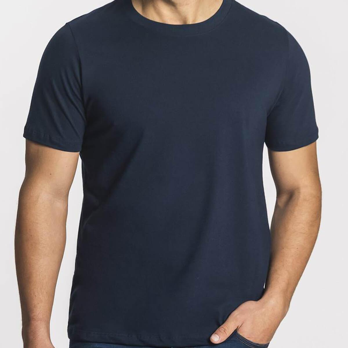 Camiseta Masculina Básica Premium Marinho