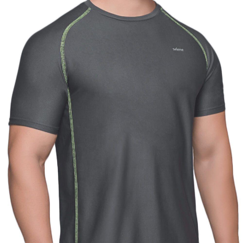 Camiseta Masculina Dry Chumbo
