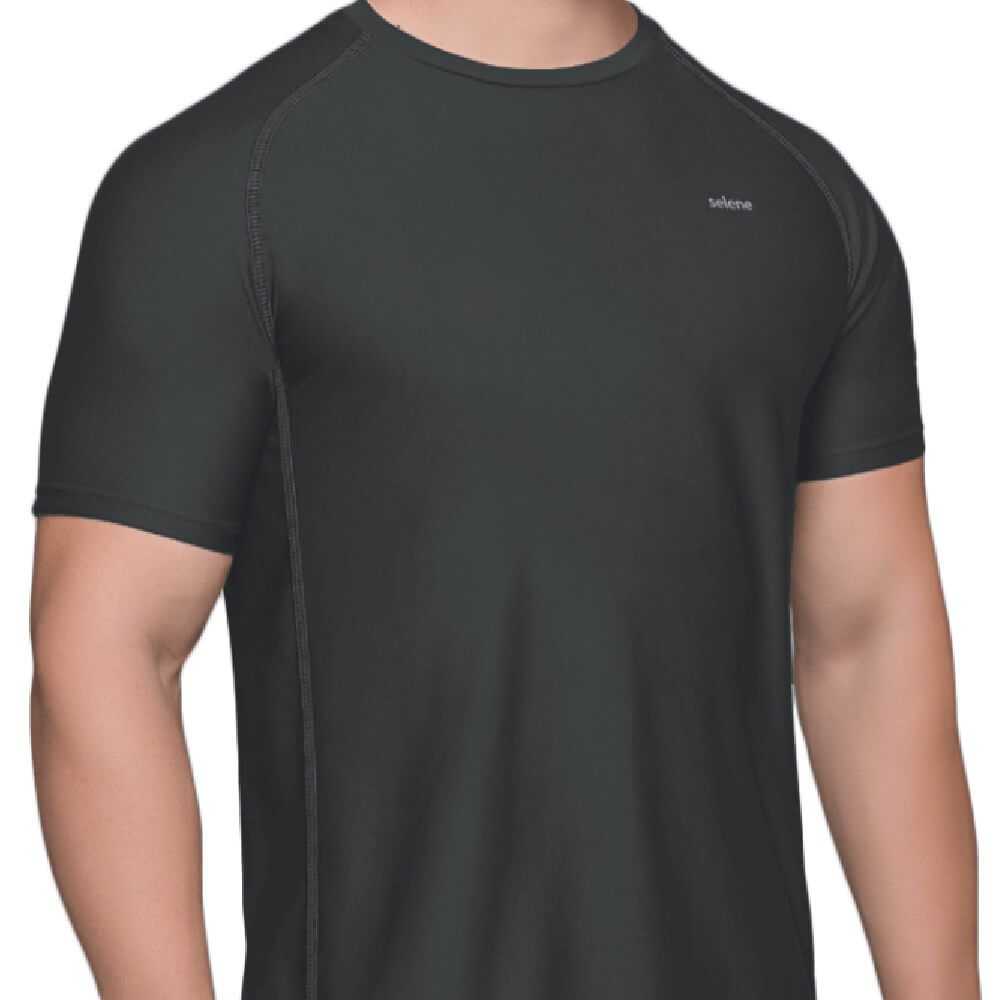 Camiseta Masculina Dry Preta