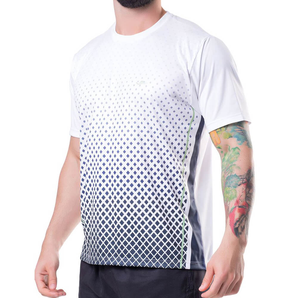Camiseta Masculina Dryline Geo