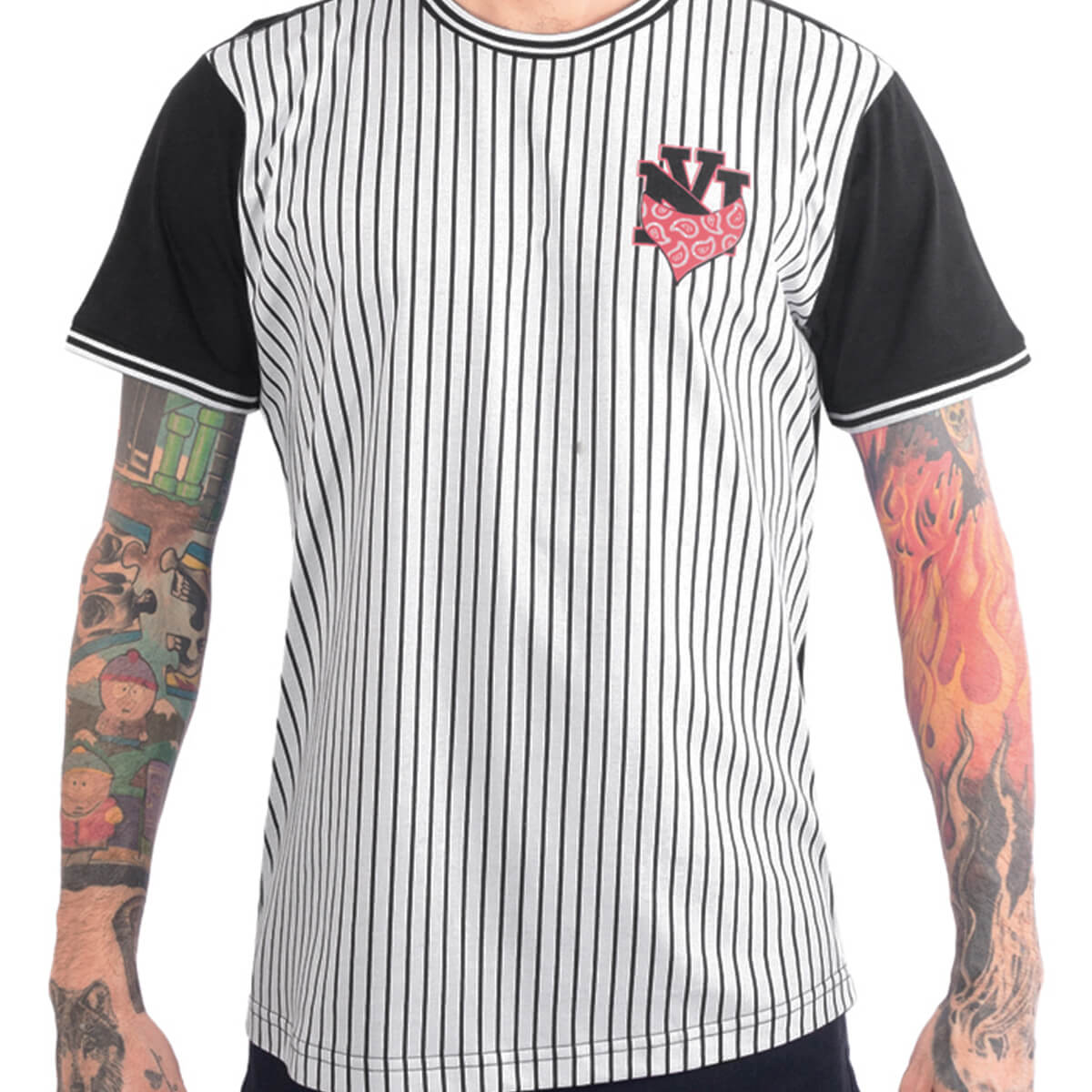 Camiseta Masculina Estampada Baseball