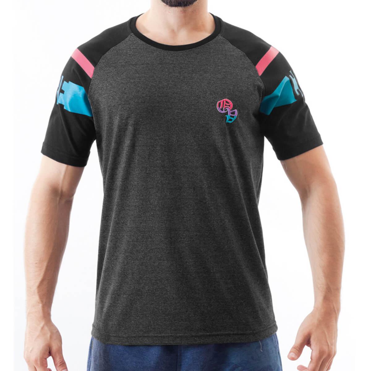 Camiseta Masculina Estampada Neon