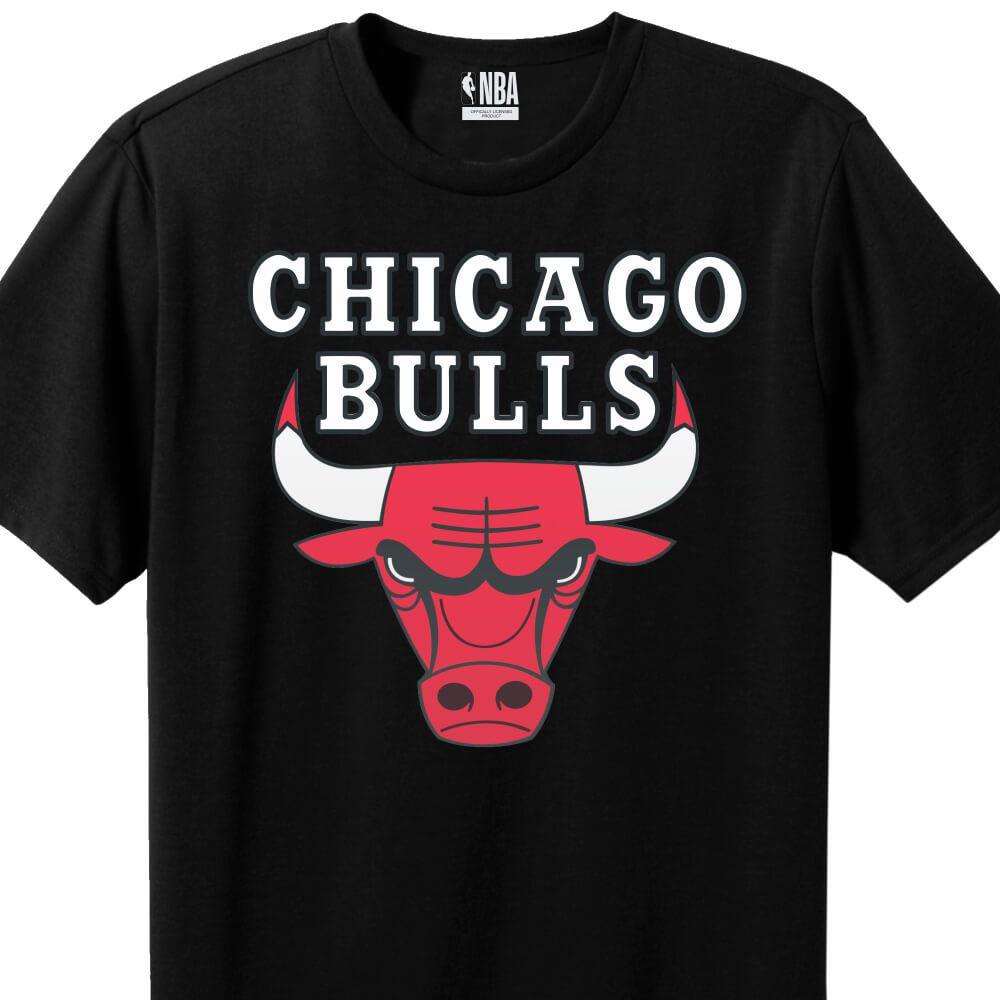 Camiseta Masculina NBA Chicago Bulls