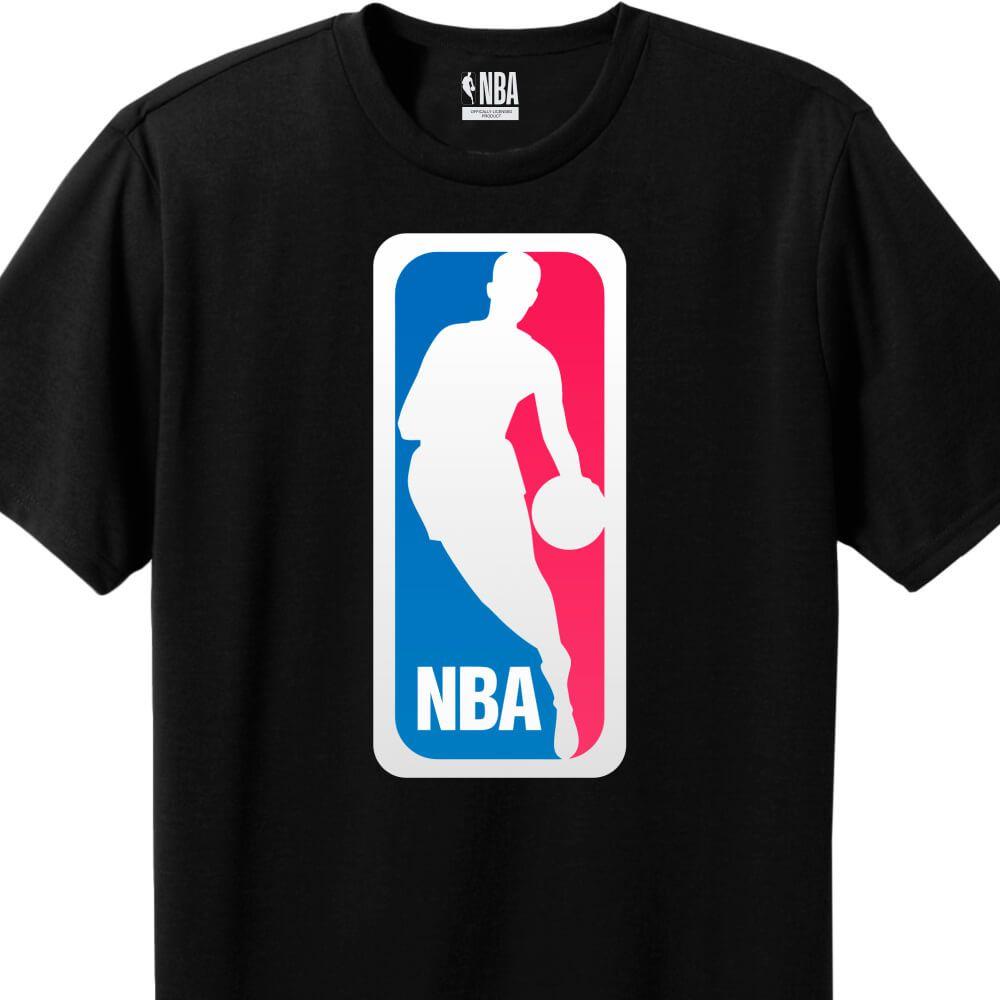 Camiseta Masculina NBA Logo