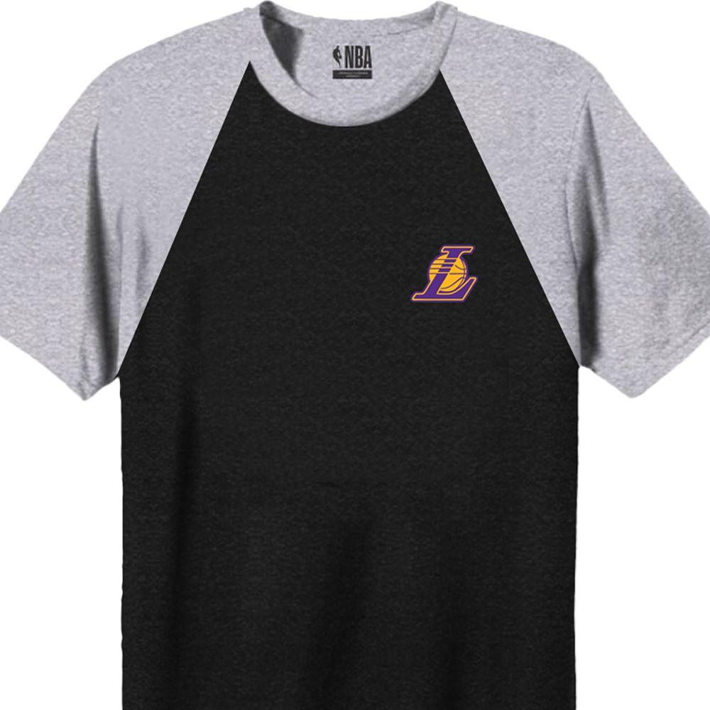 Camiseta Masculina NBA Los Angeles Lakers