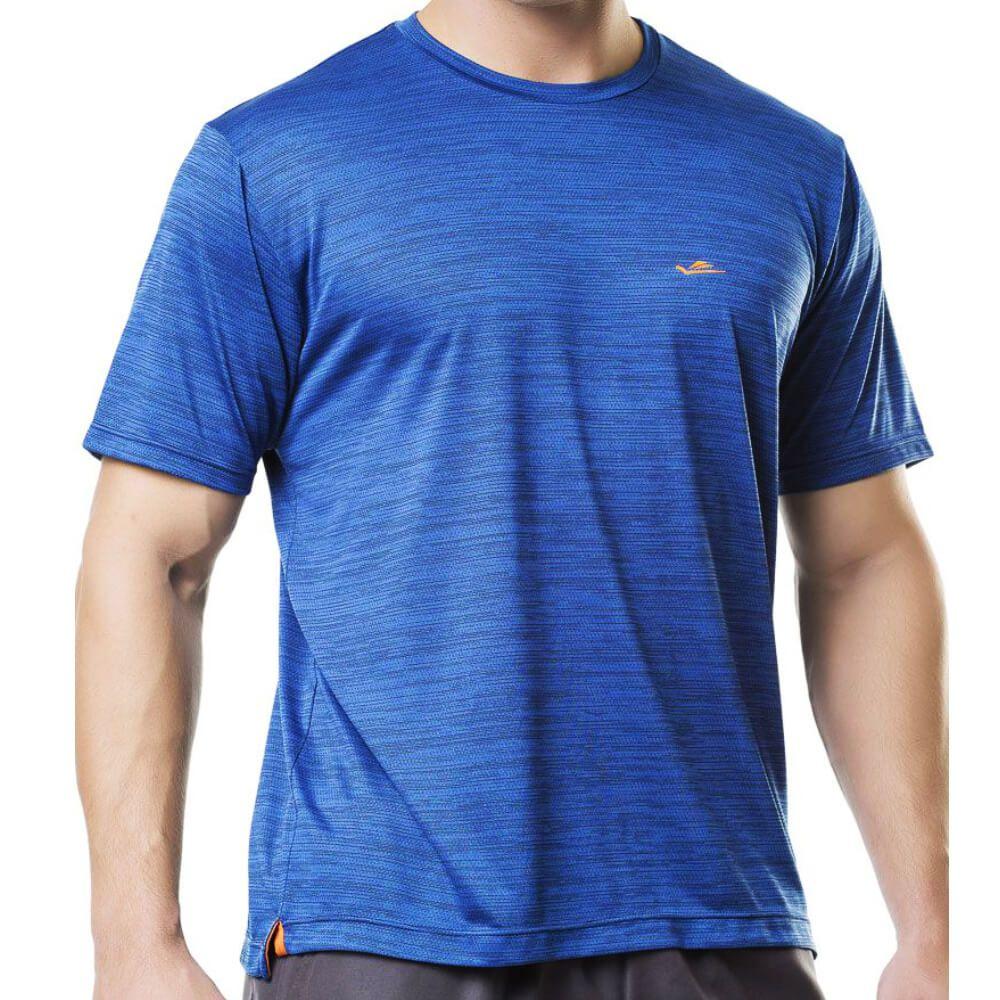 Camiseta Masculina Sports Dryline Azul