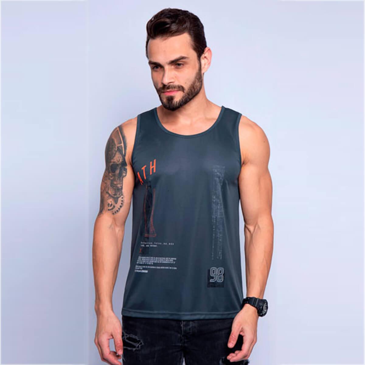 Camiseta Regata Masculina Dry 98