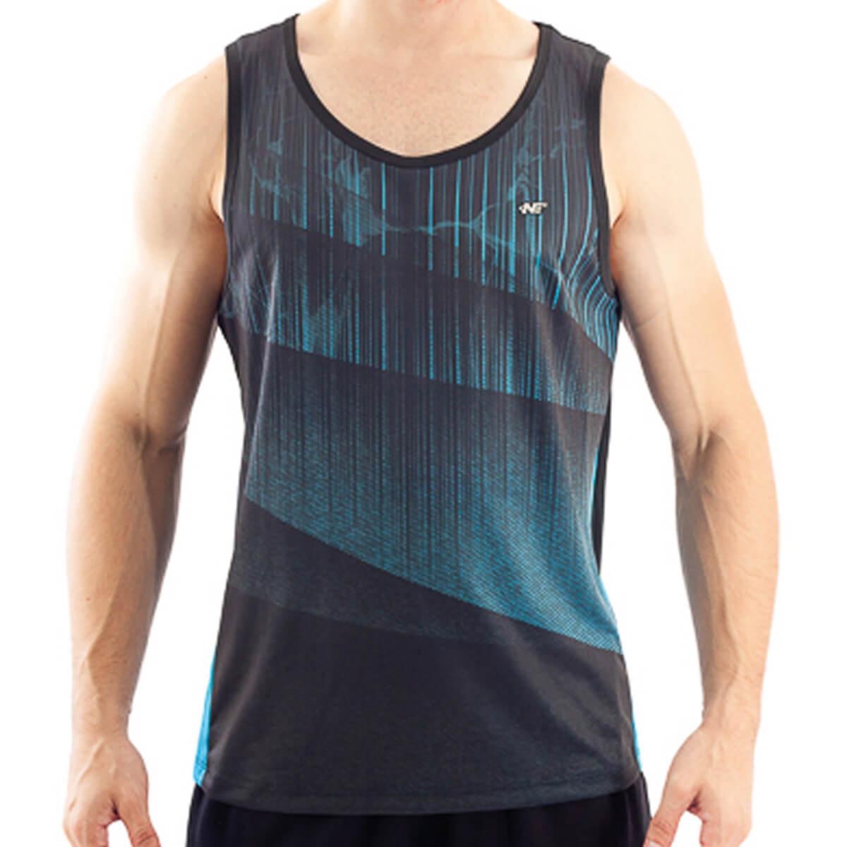 Camiseta Regata Masculina Dry Aurora Água