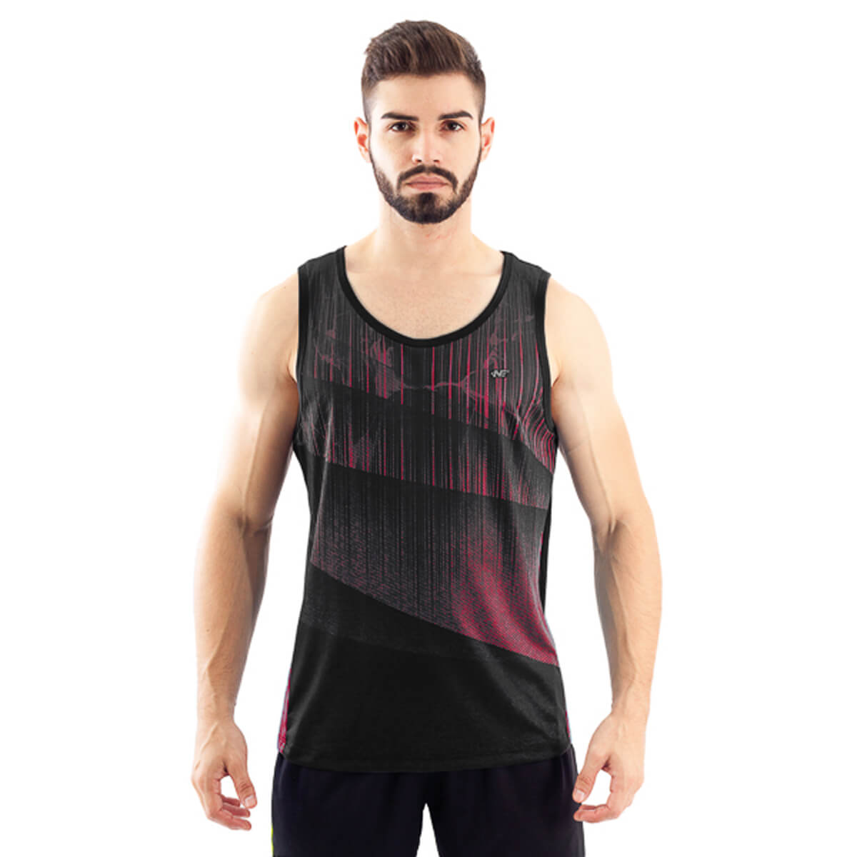 Camiseta Regata Masculina Dry Aurora Coral