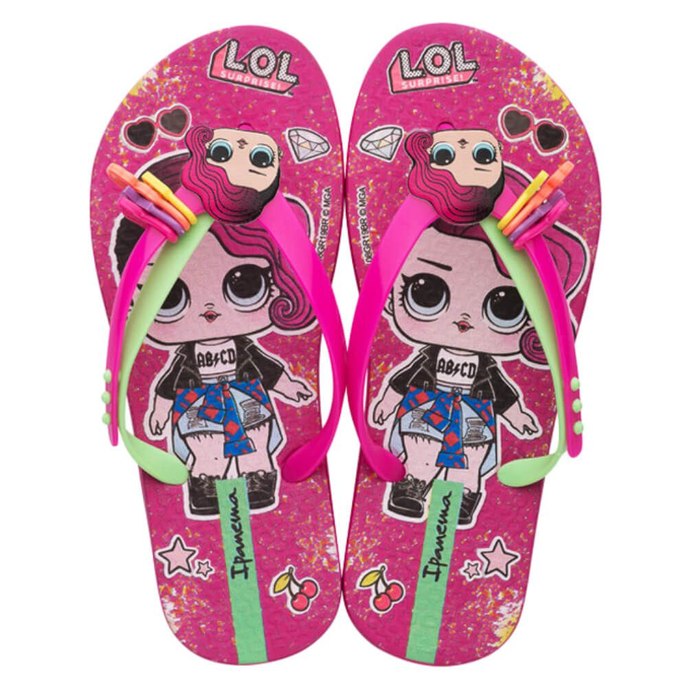Chinelo Infantil Ipanema LOL