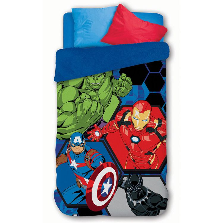 Cobertor Infantil Dupla Face Vingadores