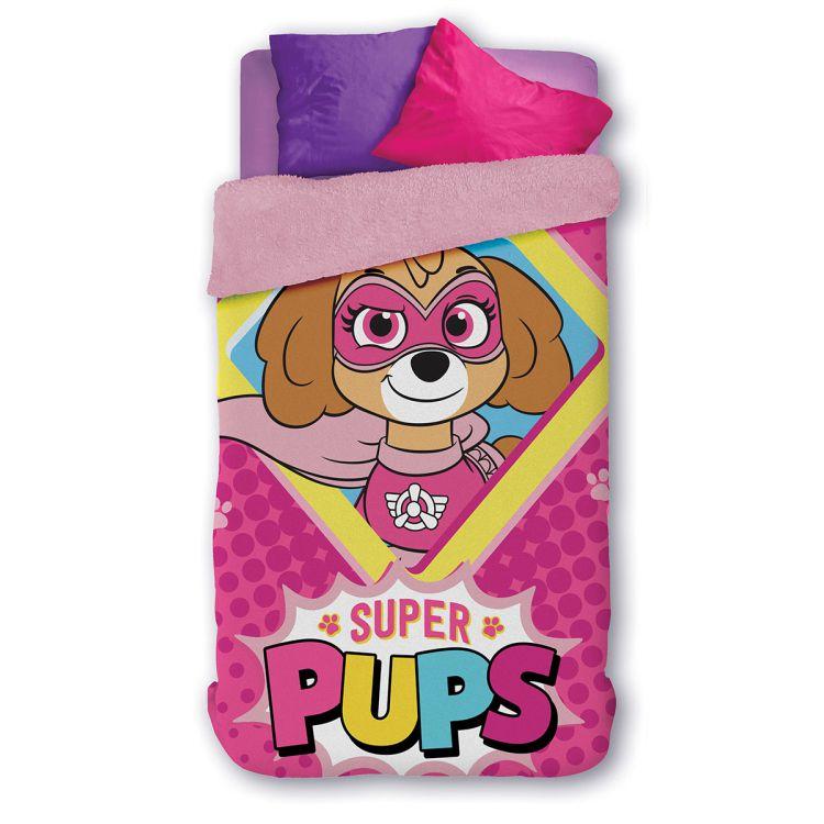 Cobertor Infantil Dupla Face Patrulha Canina Skye