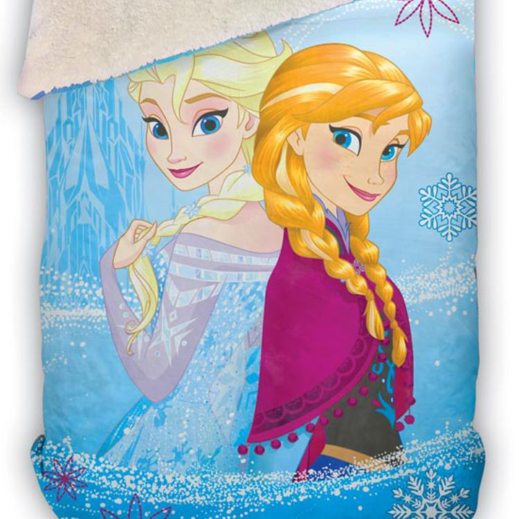 Cobertor Infantil Dupla Face Frozen