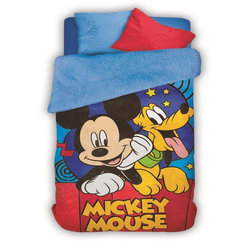 Cobertor Infantil Dupla Face Mickey