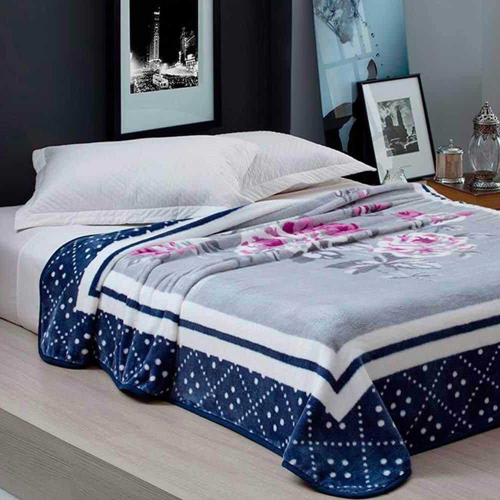 Cobertor Casal Home Design Raquel