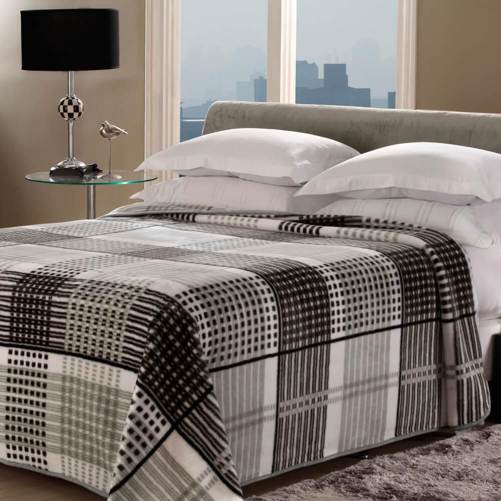 Cobertor Casal Home Design Tartan