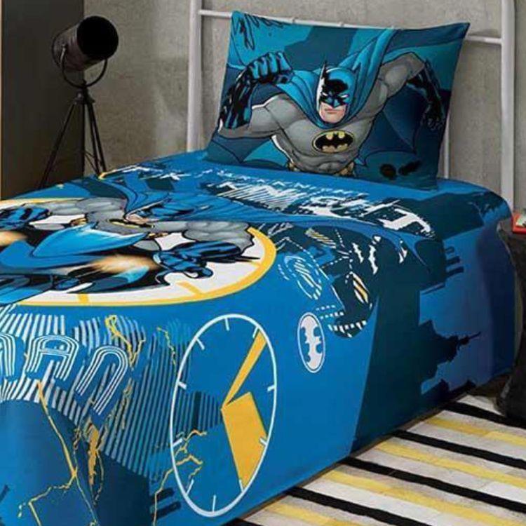Cobre Leito Infantil Batman Lepper Matelassê