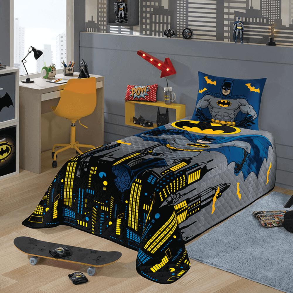 Colcha Infantil Matelassê Batman