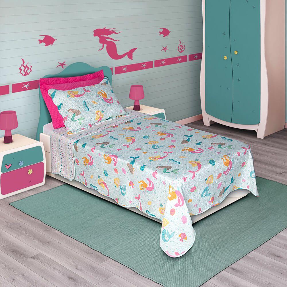 Colcha Infantil Bouti Home Decor kids Sereia