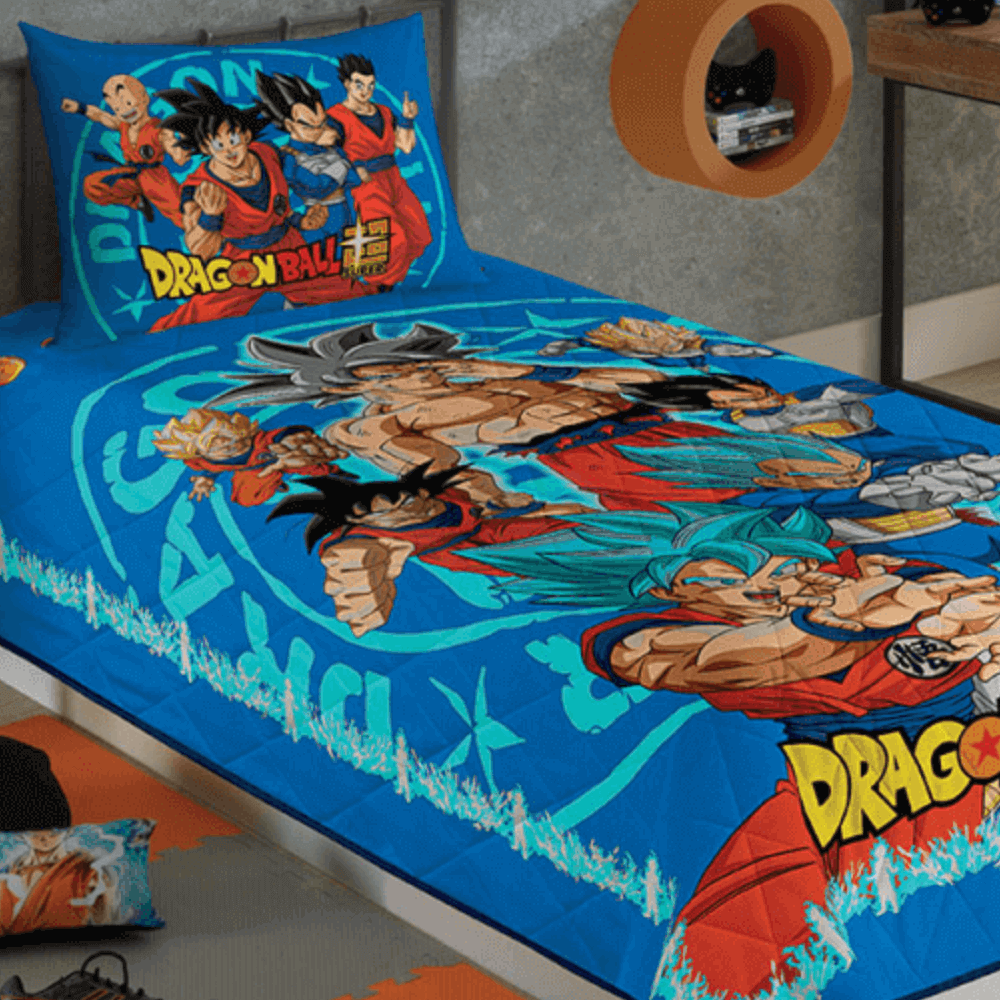 Colcha Infantil Dragon Ball
