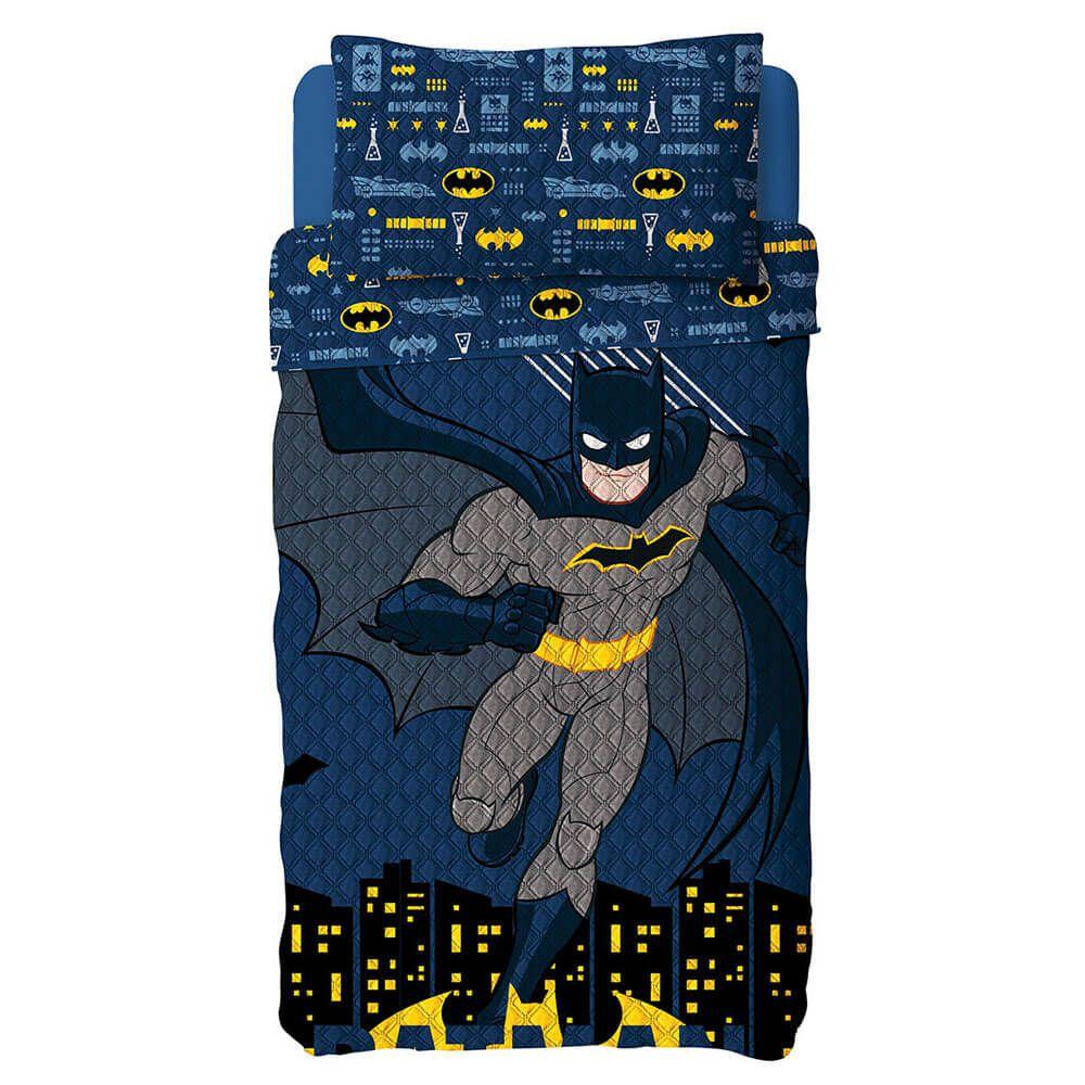 Colcha Infantil 2 Peças Dupla Face Bouti Batman