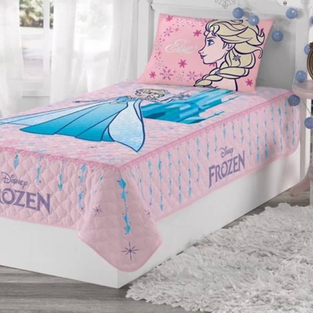 Colcha Infantil Matelassê Frozen